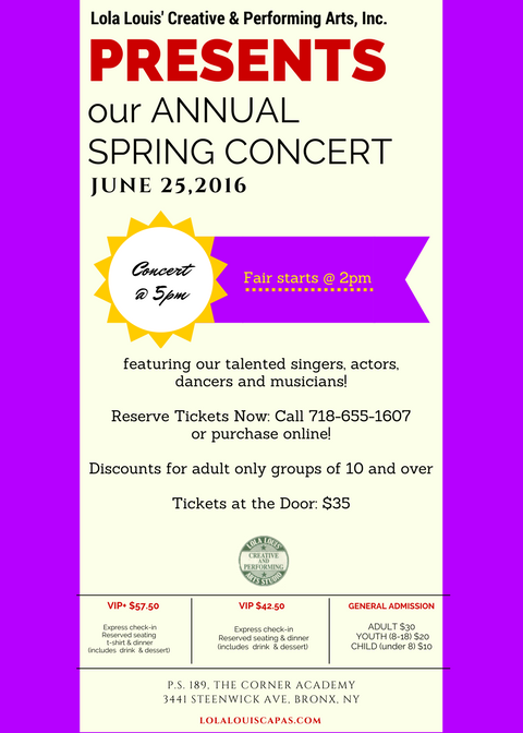 Annual Spring Concert 2017