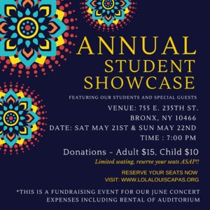 Annual Student Showcase @ CAPAS | New York | United States