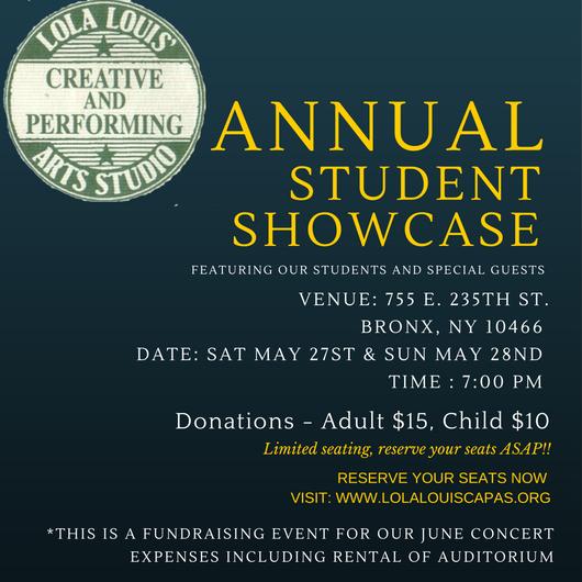 Annual Student Showcase 2017